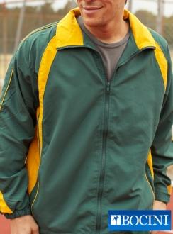Unisex Track -Suit Jacket with Contrast PANELS