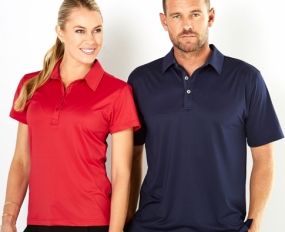 1059 Argent Polo Mens SS