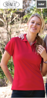 1110D Lightweight Cool dry Polo Ladies