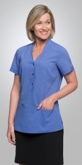 2174CC City Stretch Spot Tunic SS