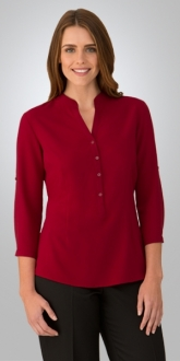 2263CC1 So Ezy Ladies Shirt 3/4 Larger