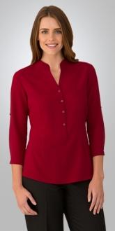 2263CC1 So Ezy Ladies Shirt 3/4 Larger