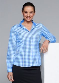 2908L Ladies Devonport Shirt LS