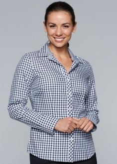 2909L Aussie Pacific Brighton Ladies LS Shirt
