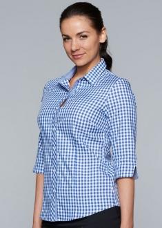 2909T Aussie Pacific Brighton Ladies 3/4 Shirt