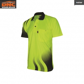 3563 Wave HiVis Sublimated Polo