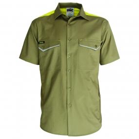 DNC 3581 Ripstop Tradies Shirt SS