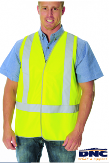 3804L Day/Night Safety Vest with H pattern tape