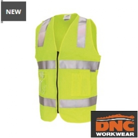 3807 Day/Night Side Panel Safety Vest