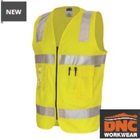 3809 Day/Night Cotton Safety Vest