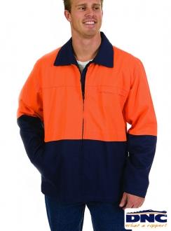 DNC HiVis Protector Drill Jacket