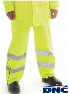 DNC HiVis Breathable Anti-Static Trousers