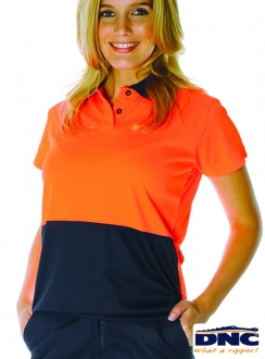 3897 DNC Ladies HiVis Polo