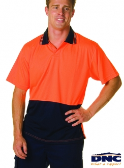 3903 DNC HiVis Food Industry Polo