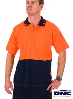 3905 HiVis Cool-Breeze Cotton Food Industry Polo