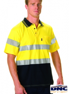 3915 HiVis Cool-Breeze Cotton 3M Polo
