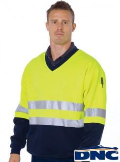 3921 HiVis Reflective Sweatshirt