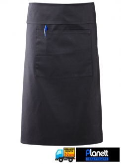 3QTR LENGTH APRON WITH POCKET AND FOLD OVER