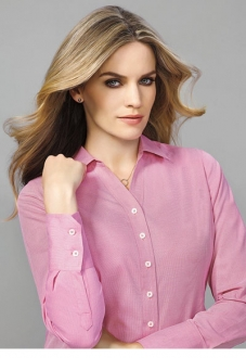 40310 Hudson Ladies Long Sleeve Shirt