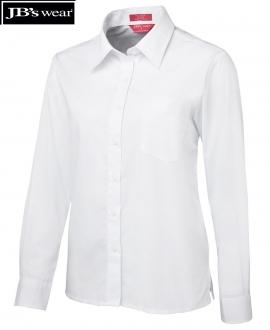 4LS Ladies Poplin L/S Shirt
