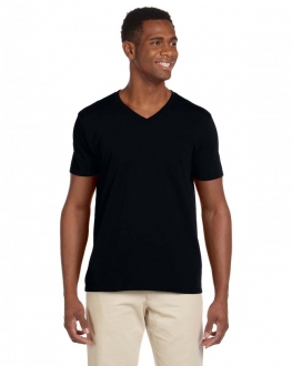64V00 Softstyle Adult V-Neck T-Shirt