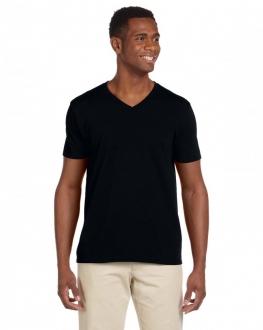 64V00 Softstyle Adult V-Neck T-Shirt