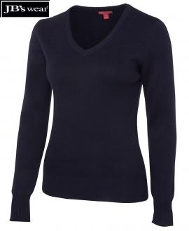 6J1 Ladies Knitted Jumper