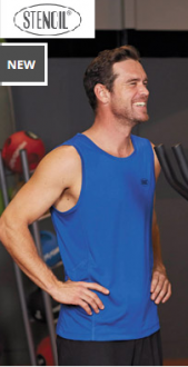 7014 Competitor Singlet Mens