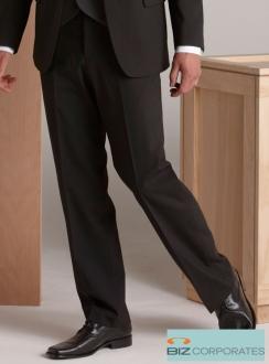 Comfort Wool Mens Flat Front Pant