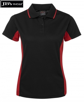 7LPP JBs Podium Ladies Contrast Polo