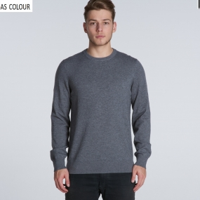 AS5030 Simple Crew Knit