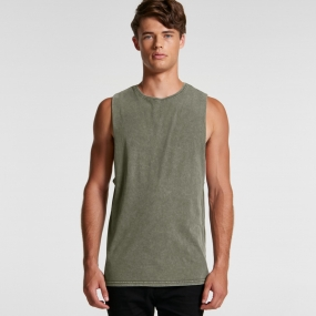 AS5039 Stone Wash Barnard Tank Unisex