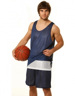 TS81 Adults Basketball Reversable Singlet