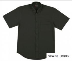 B385SS Mens Oxford Shirt SS