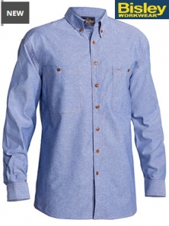 B76407 Chambray Shirt LS