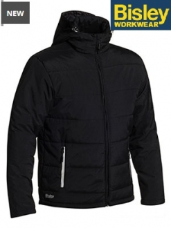 BJ6928 Puffer Jacket with adjustable hood