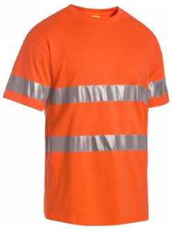 BK1017T 3M Taped HI Vis Cotton T-Shirt