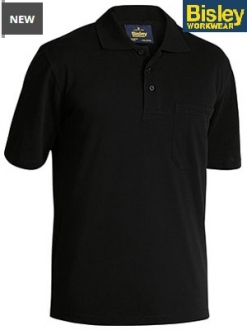 BK1290 Mens Poly/Cotton Polo Shirt SS