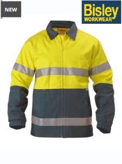 BK6710T Hi Vis Drill Jacket 3M Taped