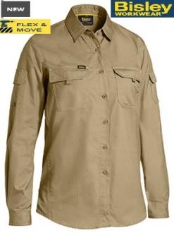 BL6414 Womens X Airflow Ripstop Shirt LS