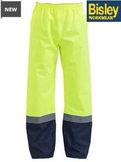 BP6965T Hi Vis Shell Rain Pant Taped