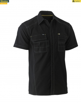 BS1144 Flex & Move™ Utility Work Shirt - Short Sleeve