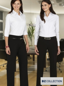 Relaxed Fit Ladies Pant with Straight Leg