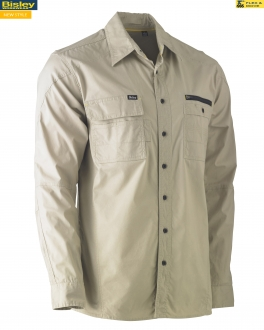 BS6144 Flex & Move™ Utility Work Shirt - Long Sleeve