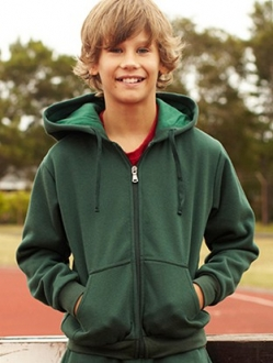 CJ1063 Zip Through Hoodie Kids