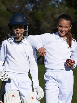 CP1214 Kids Cricket Polo LS