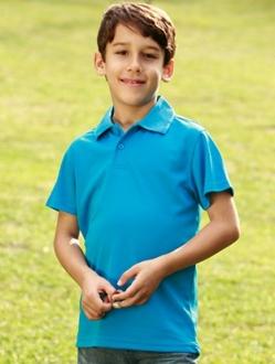 CPO755 Kids Basic Polo