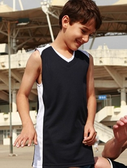 CT1206 Basketball Singlet Kids