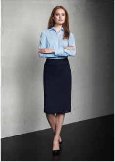 Comfort Wool Relaxed Fit Lined Ladies Skirt
