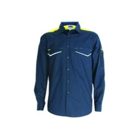 DNC 3582 Ripstop Tradies Shirt LS